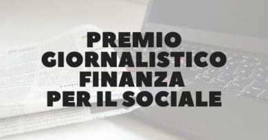 Premio giornalistico Finanza per il sociale