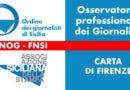Condizioni professionali dei giornalisti, convocato a Palermo l'Osservatorio