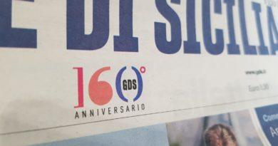 logo 160 anni giornale di sicilia