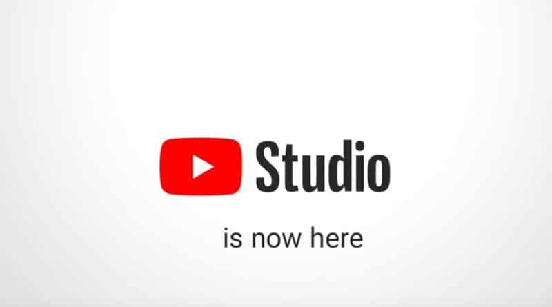youtube studio